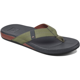 Reef Cushion Bounce Phantom Sandalias Hombre, olive/red
